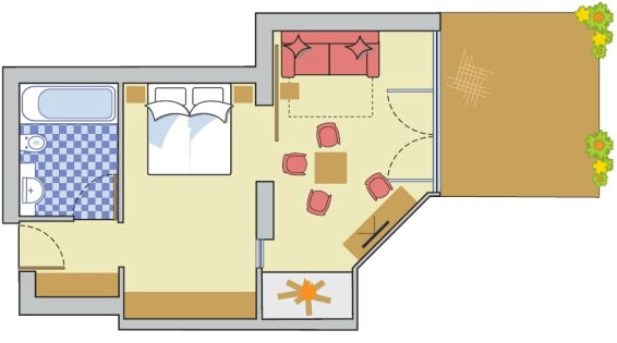 Layout Sunsuite